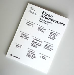 New book out: EigenArchitecture – Computability as Literacy